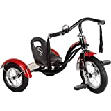 Schwinn S6787AZ Roadster Kids Tricycle, Classic Tricycle, Black 12-Inch