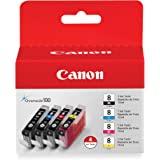 Canon CLI-8 4 Color Multi Pack Compatible to Pro9000, Pro9000 Mark II, iP6700D, iP6600D, iP5200R, iP5200, iP4200, iP4500, and