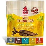 Plato PL-1251GF Grainfree Mini Thinkers Carrot, Turkey & Peanut Butter Dog Treats, 85g