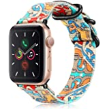Fintie Replacement Band Compatible with Apple Watch 40mm 38mm Series 5/4/3/2/1, Lightweight Breathable Woven Nylon Sport Loop