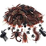 リアル虫 いたずらおもちゃ 偽ゴキブリ スパイダー ムカデ サソリ ハエ ハロウィングッズとハロウィンパーティーおもちゃ ジョーク玩具