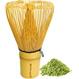 Traditional Bamboo Matcha Whisk (Chasen) by Matcha Bae | Hand Made | 100% Bamboo | 100 Prongs | Japanese Tea Ceremony Accesso