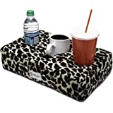 Cup Cozy Pillow Cheetah As Seen on TV -The World's Best Cup Holder! Keep Your Drinks Close and Prevent Spills. Use it Anywher