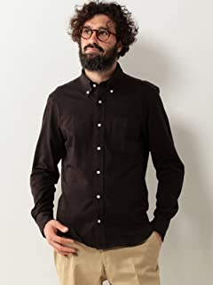 Flannel Buttondown Shirt 5811-699-0103: Dark Brown