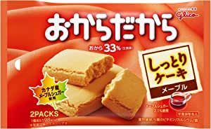 江崎グリコ おからだから メープル 2枚×10個 栄養補助食品