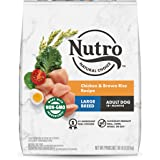NUTRO Wholesome Essentials Natural Adult Large Breed Dry Dog Food Farm-Raised Chicken, Brown Rice & Sweet Potato Recipe, 30 l