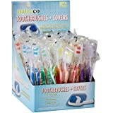 100 Toothbrushes Standard Medium Soft Individually Wrapped By Natraco