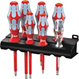 Wera 5022728001 3160 I/7 Screwdriver Set with Stainless and Rack 7 Pieces