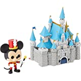 Funko 50373 Pop! Town: Disney 65th - Castle with Mickey, 6 Blue