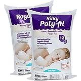 Fairfield PFRS12 Poly-Fil Royal Silk Fiber Fill Bag, 12 oz, White