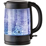 Russell Hobbs Brooklyn Glass Kettle, Black, RHK172BCH