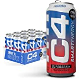 Cellucor C4 Smart Sugar Free Energy Drink -Performance Fuel & Nootropic Brain Booster with No Artificial Colors or Dyes, Free