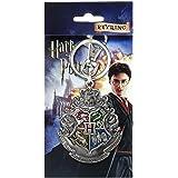 Harry Potter Hogwarts Crest Pewter Key Ring
