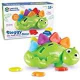 Learning Resources Steggy The Fine Motor Dino, Montessori Toys, Color Recognition, Developmental Toys, Fine Motor Tool, Ages