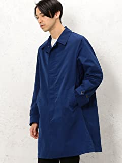 Polyester Balmacaan Coat 3225-139-2352: Royal