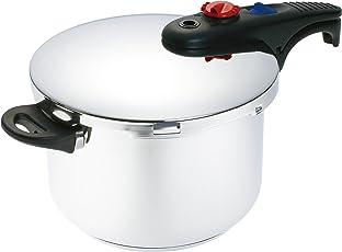 Luminousplus (ルミナスプラス) 2段階圧力調節機能付き 片手圧力鍋
