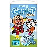 【パンツ Lサイズ】ネピアGENKI! アンパンマン おむつ (9~14kg)44枚 単品
