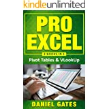 Pro Excel: Pivot tables & VLookUp (2 books in 1) - VBA Functions included