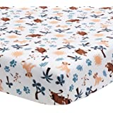 Lambs & Ivy Lion King Adventure Fitted Crib Sheet, Multicolor
