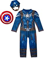 Captain America Winter Soldier Deluxe Costume for Kids