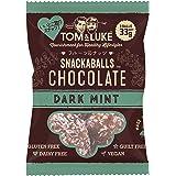 【トム&ルーク】フルーツ&ナッツ チョコレート スナックボール セット(33g X 12袋・ダークミント) グルテンフリー、エナジーボール、砂糖不使用、乳製品不使用、卵不使用、ヘルシースナック、ビーガン、新感覚チョコレート、カバンの中にも、携帯食、ネ