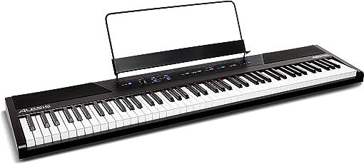 Alesis 88鍵盤 初心者向け電子ピアノ フルサイズ・セミウェイト鍵盤 Recital 【アマゾン限定】