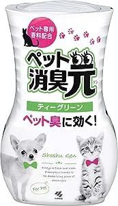 消臭元ペット用 消臭芳香剤 部屋用 ペット臭に効くティーグリーン 400ml