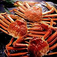 【ギフト・贈答】 超特大 ズワイガニ 希少ジャンボサイズ 天然 ずわい蟹 姿 約1.3kg×2尾