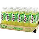 100 Plus Isotonic Drink Lemon Lime Flavour Pet, 500ml (Pack of 24)