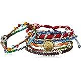 [ワカミ] wakami ブレスレット Earth Bracelet 7 Strand WA0389