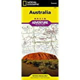 National Geographic Australia Adventure Travel Map (National Geographic Adventure Map)