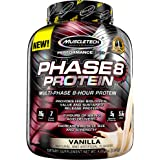 Whey Protein Powder   MuscleTech Phase8 Whey Protein   Sustained-Release 8-Hour Protein Shakes for Men & Women   26g of Prote