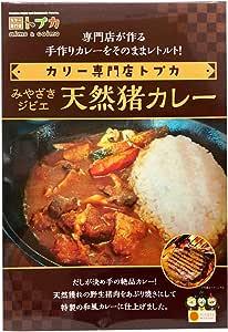 カリー専門店 トプカ みやざきジビエ 宮崎天然猪カレー 200g