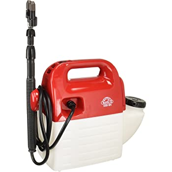 セフティー3 ハイパワー電池式噴霧器 5L ホース1.7m ノズル40~90cm 1頭2頭切替 SSD-5H
