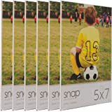 """Snap 07FP886C Magnetic Acrylic Frame (Set of 6), 5 x 7"""", Clear"""