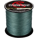 Mounchain 100% PE 4 & 8 Strands Braided Fishing Line, 10 20 30 40 LB Sensitive Braided Lines, Super Performance and Cost-Effe