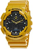 G-SHOCK GA-100A-9A ジーショック 海外モデル アナログ/デジタルコンビ 1/1000秒ストップウォッチ 逆輸入品 [並行輸入品]