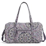 Vera Bradley Signature Cotton Lay Flat Travel Duffle Bag