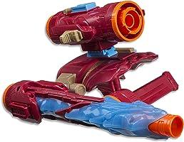 AVENGERS Iron Man Nerf Assembler Gear Blaster, 7 Pieces