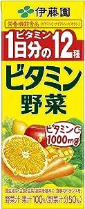 伊藤園 ビタミン野菜 紙パック 200ml×24本