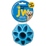 JW Pet Company Megalast Ball Dog Toy, Large (Colors Vary)