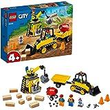 LEGO City Construction Bulldozer 60252 Toy Construction Set, Cool Building Set for Kids
