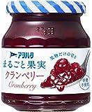 アヲハタ まるごと果実 クランベリー 250g ×3個