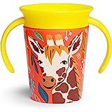 Munchkin Miracle 360 Wildlove Trainer Cup, 6 Oz, Giraffe