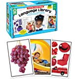 """Carson Dellosa Key Education Early Learning Language Library Learning Cards (845036) 6"""" x 9.2"""" x 3.5"""""""