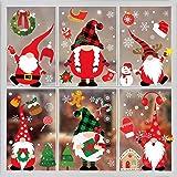 Christmas Window Clings-Christmas Window Stickers 316PCS Christmas Gnome Window Clings Christmas Window Decorations Christmas
