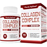 Premium Multi Collagen Peptides Capsules (Types I,II,III,V,X) - Anti-Aging, Healthy Skin & Hair, Strong Joints, Bones & Nails