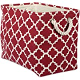 DII Printed Polyester, Collapsible and Convenient Storage Bin To Organize Office, Bedroom, Closet, Kid's Toys, Laundry -Larg