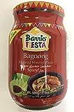 Barrio Fiesta SAUTEED SHRIMP PASTE BAGOONG SPICY 500g バリオフェスタ シュリンプペースト バゴーン スパイシー