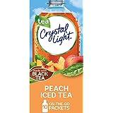 Crystal Light Peach Iced Tea Drink Mix (10 On-the-Go Packets)
